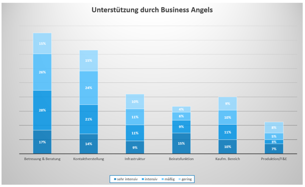 Unterstützungsleistungen durch Business Angels